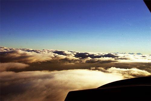 Über den Wolken scheint immer die Sonne! – in einem Rundflug der FSG Neustadt a. d. Aisch